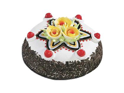 سفارش آنلاین کیک - کیک گل و ستاره | کیک آف