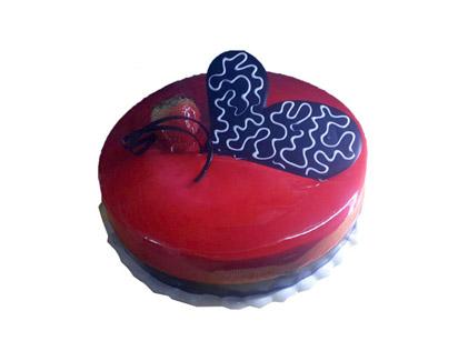 کیک ولنتاین - کیک عشق تو | کیک آف