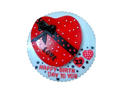 کیک سالگرد ازدواج - کیک عشق من | کیک آف