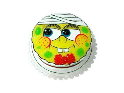 کیک تولد بچه گانه - کیک باب اسفنجی بیمار | کیک آف