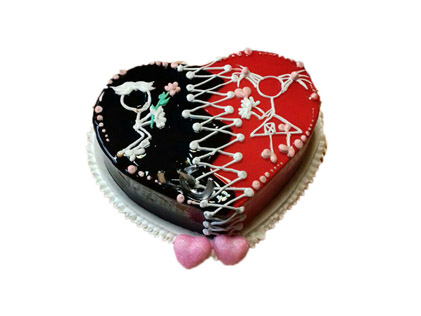 کیک سالگرد ازدواج - کیک ما دو تا | کیک آف