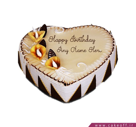 کیک سالگرد عروسی - کیک عاشقانه مهر آور | کیک آف