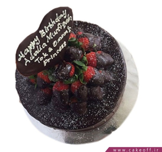 کیک سالگرد عروسی - کیک عاشقانه مهر آنا | کیک آف
