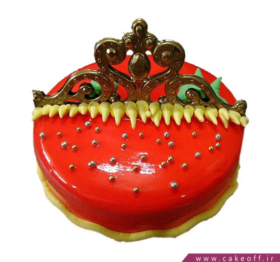 خرید اینترنتی کیک - کیک ژله ای گلبانگ | کیک آف