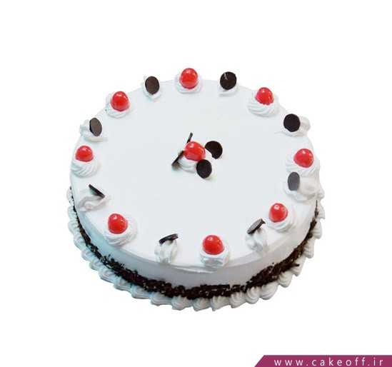 تهیه اینترنتی کیک - کیک دور گیلاسی | کیک آف