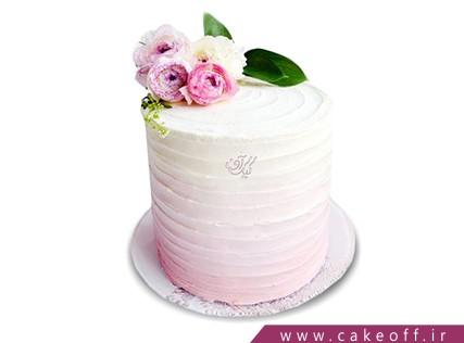 کیک گل رز - کیک خامه گل | کیک آف