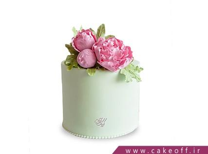 کیک تولد زیبا -  کیک گل صدتومنی | کیک آف