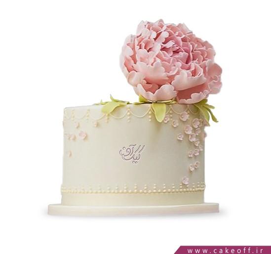 کیک گل رز - کیک گل من | کیک آف