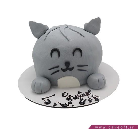 کیکهای تولد زیبا - کیک فوندانتی خرگوش بامزی | کیک آف