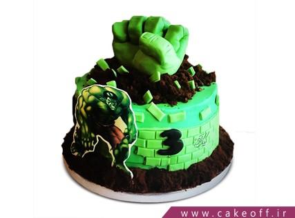 کیک تولد پسرانه - کیک هالک 1 | کیک آف