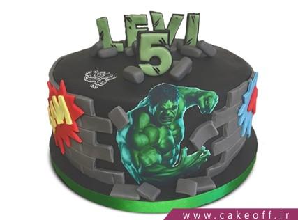 جدیدترین کیک تولد پسرانه - کیک هالک 4 | کیک آف