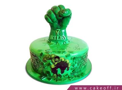 مدل کیک پسرانه - کیک هالک 5 | کیک آف