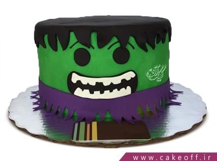 کیک تولد پسرانه - کیک پسرانه هالک 7 | کیک آف