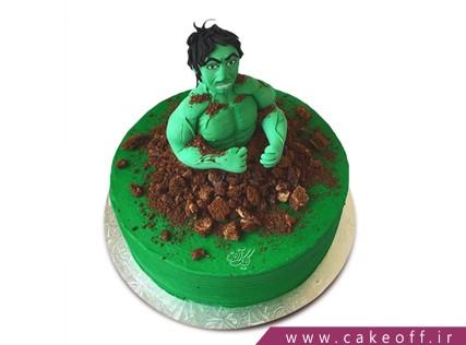 کیک تولد پسرانه - کیک پسرانه هالک 8 | کیک آف