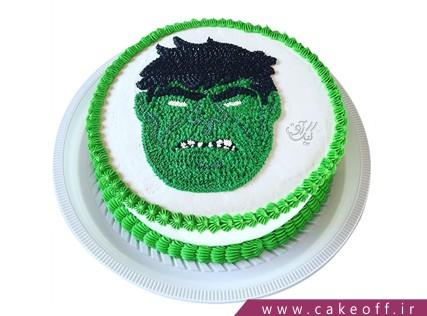 کیک تولد پسرانه - کیک پسرانه هالک 11 | کیک آف