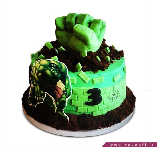 کیک هالک 1
