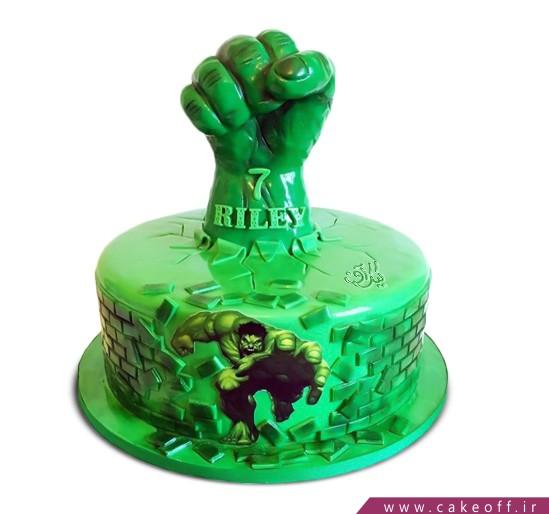 کیک هالک 5