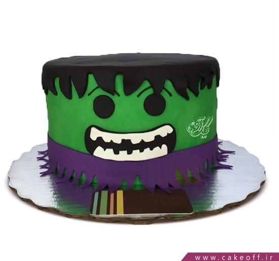 کیک پسرانه هالک 7