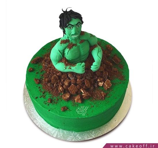 کیک پسرانه هالک 8