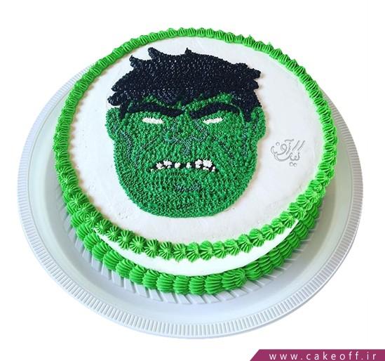 کیک تولد پسرانه - کیک پسرانه هالک ۱۱ | کیک آف