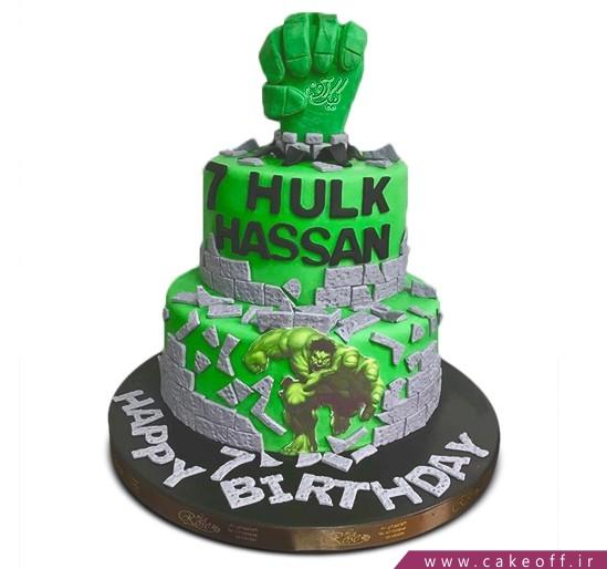 کیک پسرانه هالک 12