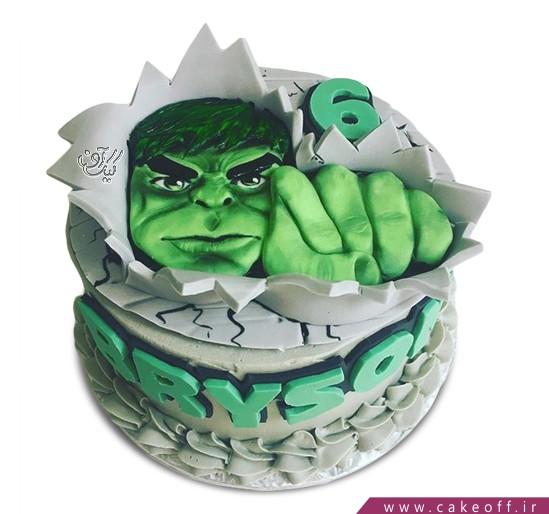 کیک پسرانه هالک 13