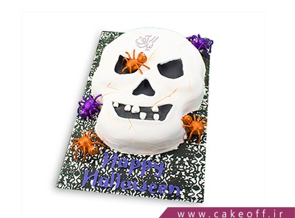 کیک وحشتناک - کیک هالووین اسکلت پوسیده | کیک آف