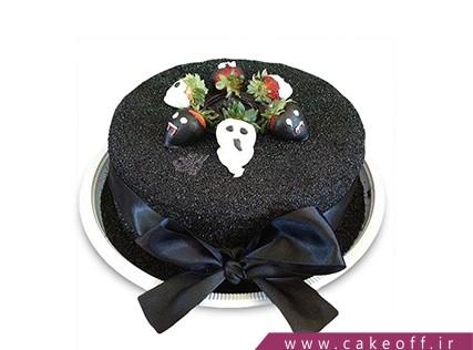 کیک وحشتناک - کیک جشن هالووین - کیک توت فرنگی های سمی | کیک آف