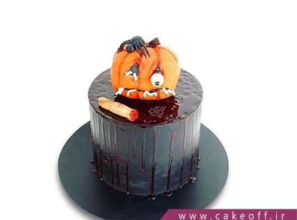کیک وحشتناک - کیک هالوین - کیک کدو حلوایی آدم خوار | کیک آف
