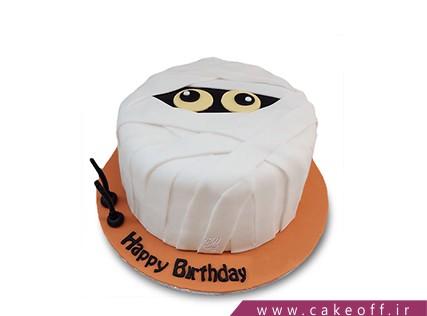 خرید اینترنتی کیک در اصفهان - کیک مومیایی در تله | کیک آف