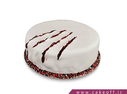 کیک وحشتناک - کیک هالوین - کیک سکوت بره ها | کیک آف