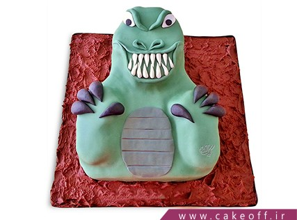 کیک وحشتناک - کیک هالووین - کیک بازگشت دراکولا به شهر | کیک آف