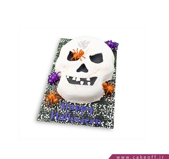 کیک هالووین اسکلت پوسیده
