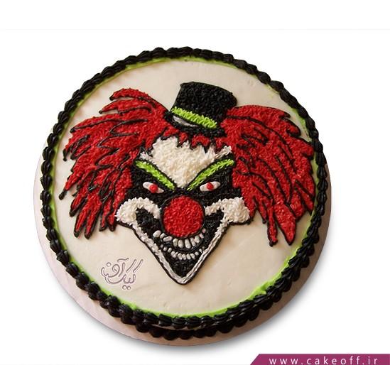 کیک هالووین دلقک زشت