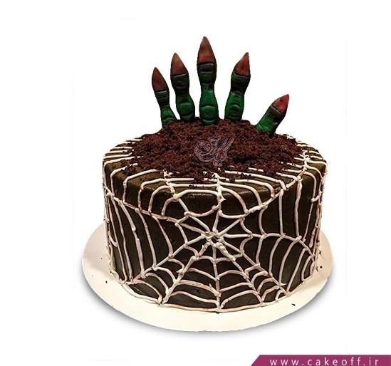 سفارش آنلاین کیک - کیک هالووین - کیک از گور بازگشته | کیک آف