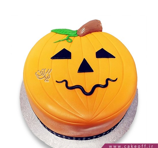 کیک کدو تنبل جشن هالووین