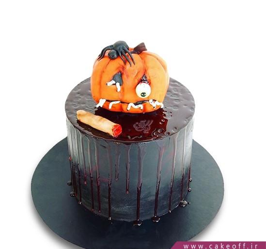 کیک کدو حلوایی آدم خوار