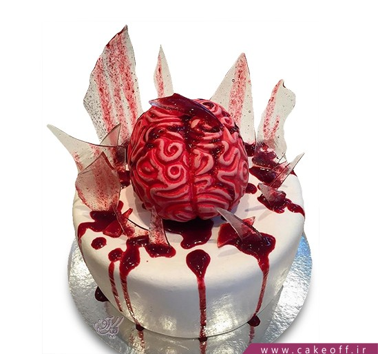 کیک وحشتناک - کیک هالووین - کیک کشتار با ارهبرقی در تگزاس | کیک آف