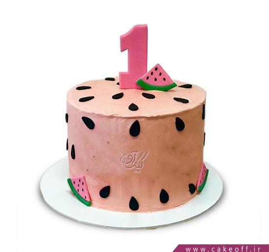 کیک شب یلدا - کیک هندوانه ای - کیک هندونهی نارس | کیک آف