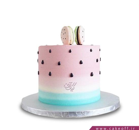 کیک شب یلدا - کیک هندونه - کیک بیسکوییت هندونه ای | کیک آف