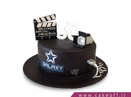 کیک تولد هنری - کیک یک،دو،سه حرکت | کیک آف