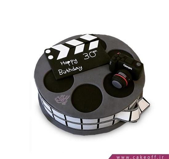 کیک تولد هنری - کیک یک فیلم | کیک آف