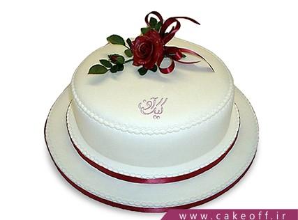 کیک خامه ای - کیک تولد - کیک آواز عشق | کیک آف