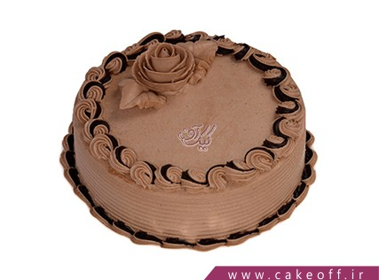 کیک خامه ای - کیک تولد - کیک یه جرعه کاکائو | کیک آف
