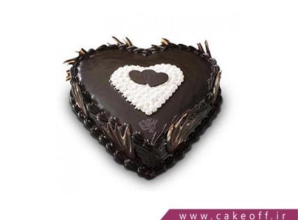 کیک تولد عاشقانه - کیک پیوند قلب ها | کیک آف