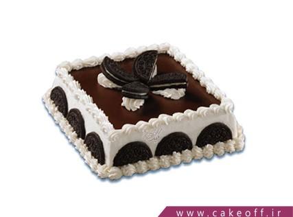 کیک شکلاتی - کیک تولد - کیک یه عصرانه بیسکوییتی | کیک آف