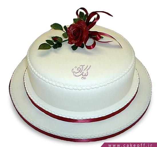 کیک خامه ای - کیک تولد - کیک آواز قو | کیک آف
