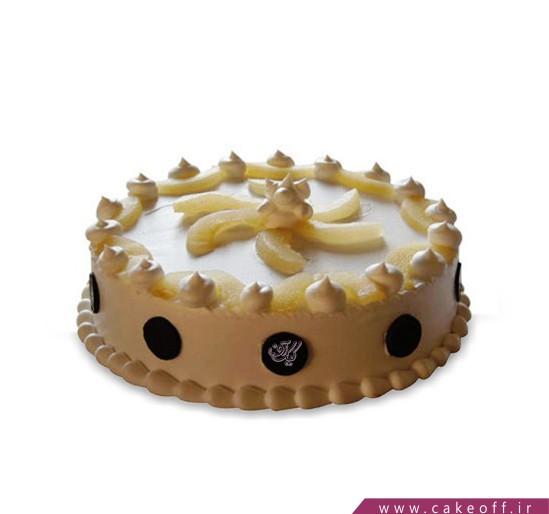 کیک با تزیین میوه - کیک میوه خامه ای | کیک آف