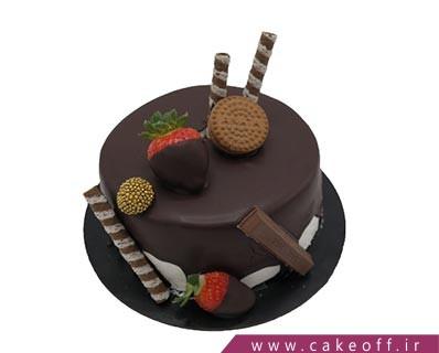 کیک ساده شکلاتی - کیک کاکائویی چکه چکه | کیک آف
