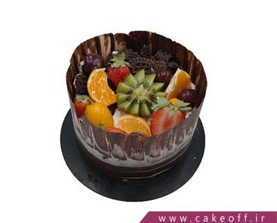 کیک میوه ای دیوار شکلاتی | کیک آف